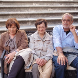 Margherita, MariaAlberta e Gianfranco