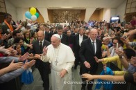 ingresso di papa francesco